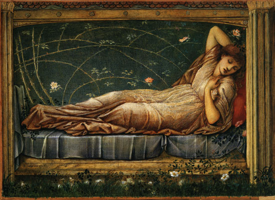 Sleeping Beauty, Edward Burne-Jones