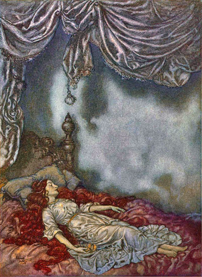 Sleeping Beauty, Edmund Dulac