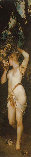 The Five Senses:Smelling, Hans Makart