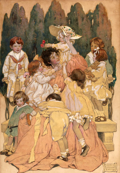 A Child's Garden of Verse, Jessie Willcox Smith
