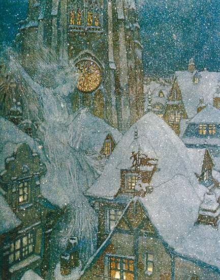 The Snow Queen, Edmund Dulac