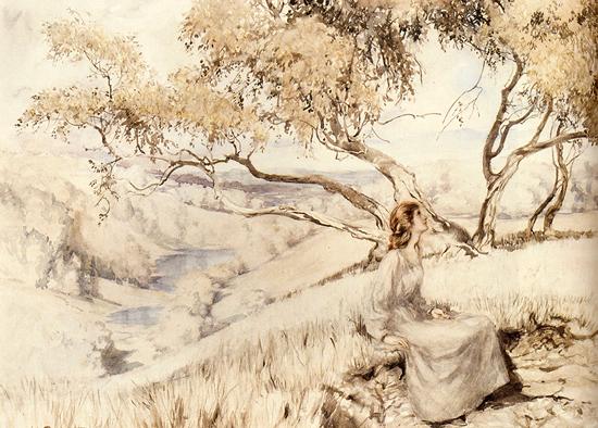 Song of the Lark,  Arthur Rackham