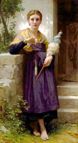 The Spinner William-Adolphe Bouguereau