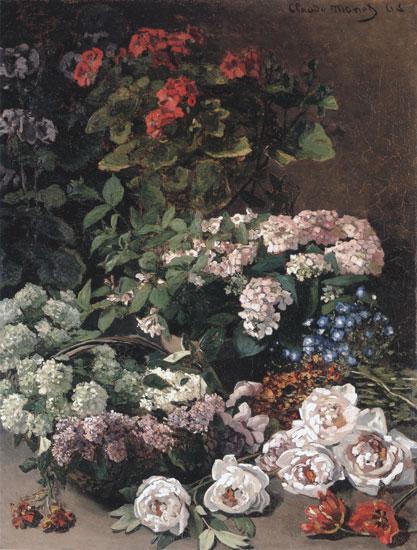 Spring Flowers, Monet (22X29)
