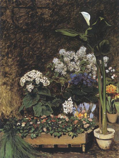 Spring Flowers, Pierre Aguste Renoir (18X24)