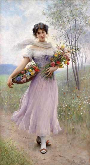 Eugene de Blaas - Page 2 Spring-Flowers-von-Blaas-L