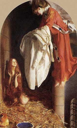 Saint Agnes, Cowper  (16X26.5)