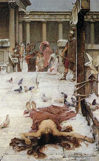 Saint Eulalia, Waterhouse (16X26)