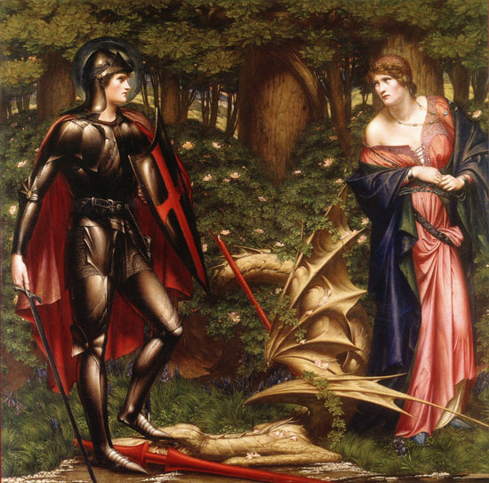 St. George and the Dragon, Sidney Harold Meteyard