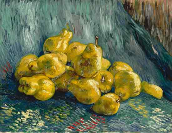 Still Life with Quinces, Vincent van Gogh