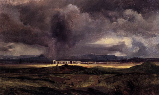 The Storm, Arnold B�cklin (16X26.75
