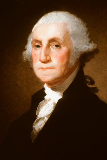 George Washington, Gilbert Stuart (16X24)