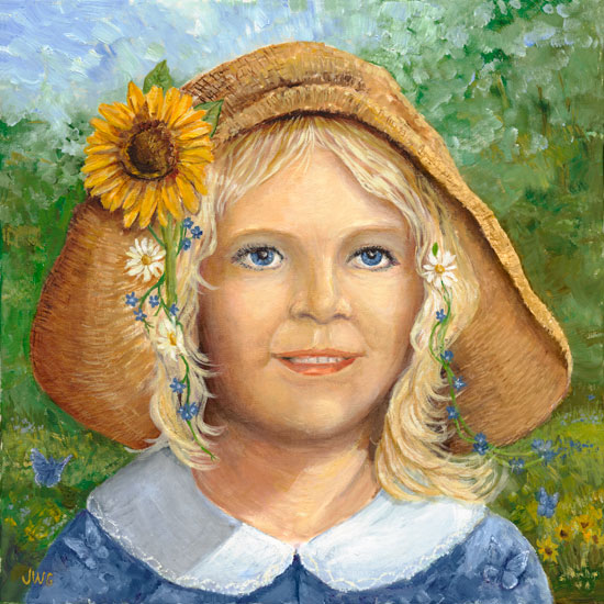 Summer Breeze, Joyce Gibson (14X14)