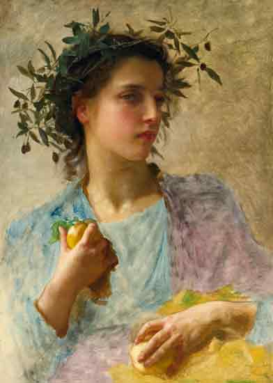 Summer, Bouguereau, (15.7x22)