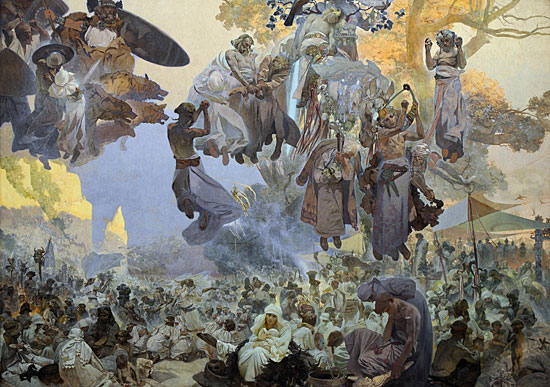 Svantovit Celebration, Mucha (22X31.5)