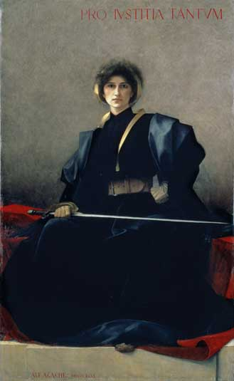 The Sword, Alfred Pierre Agache