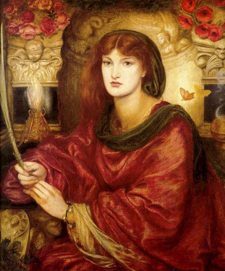 Sybilla Palmifella,Dante Gabriel Rossetti (22X26.5)