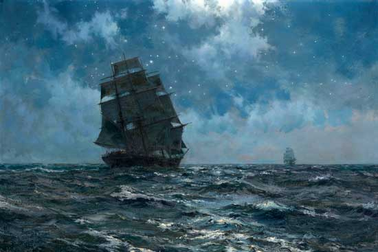 The Southern Cross ,  Montague Dawson