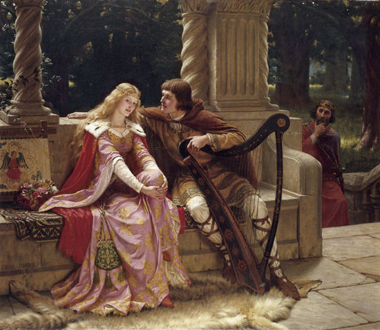 Tristan and Isolde, Edmund Blair Leighton