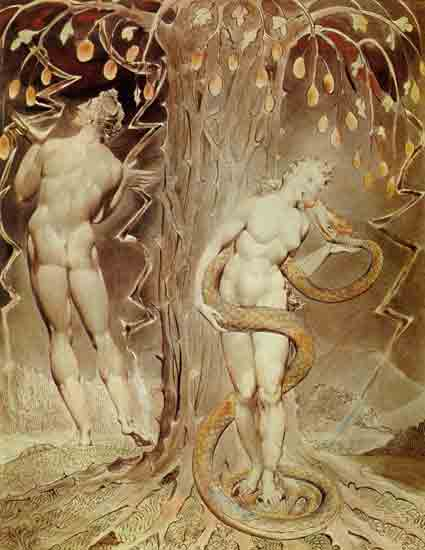 Temptation and Fall, William Blake