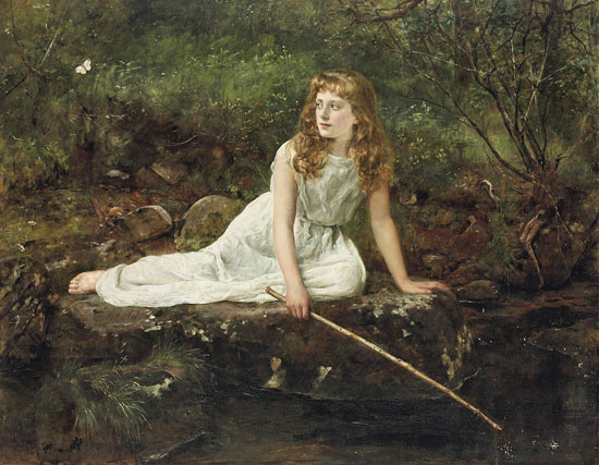 The Butterfly, Hon. John Collier