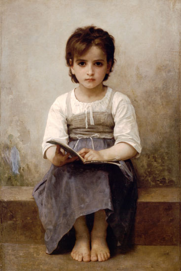 The Difficult Lesson, William Bouguereau