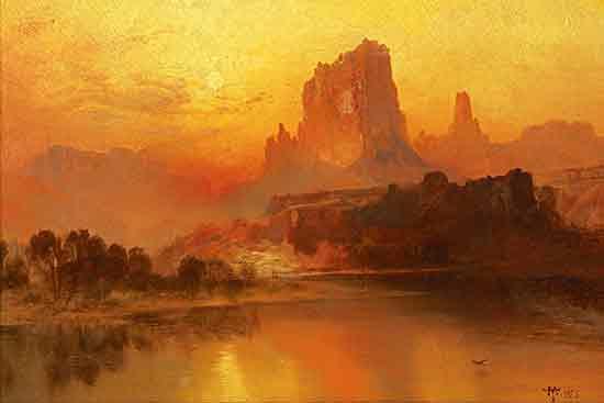 The Golden Hours, Thomas Moran