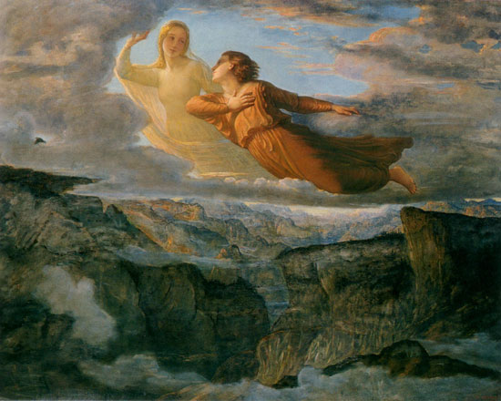 The Ideal, Louis Janmot (16X20)