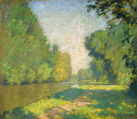 The Tow Path, William Langson Lathrop