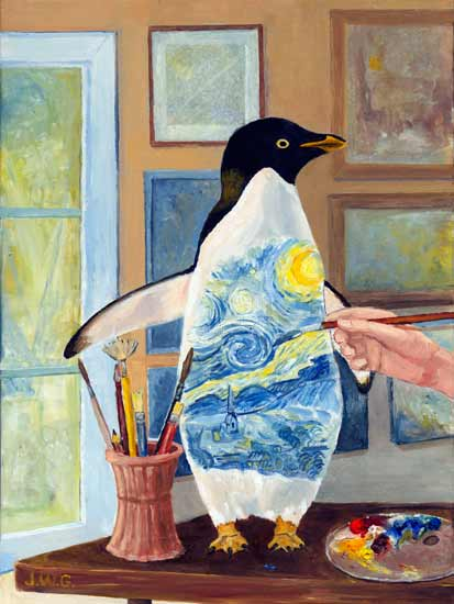 I Think I'll Paint a Penguin, Joyce Gibson