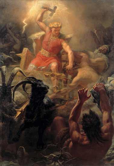 Thor, M�rten Eskil Winge (22X34)