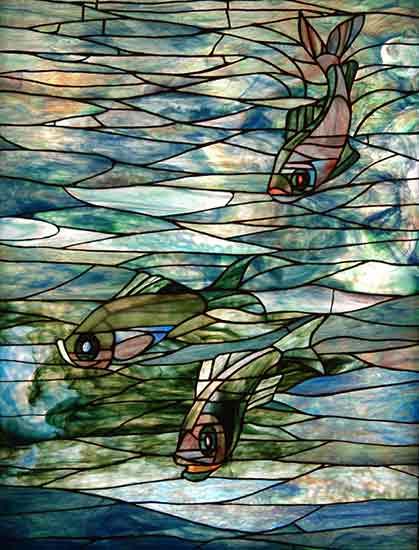 Fish, Louis Comfort Tiffany