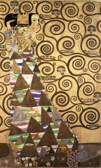 The Tree of Life, Left, Gustav Klimt (18x30)
