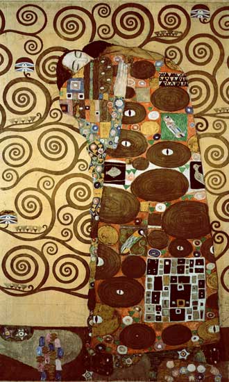 The Tree of Life, right panel, Klimt