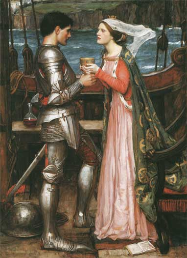 Tristram & Isolde, John William Waterhouse
