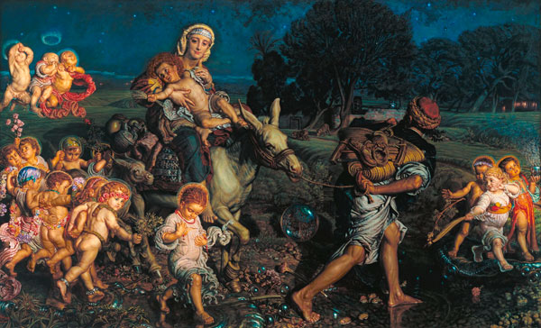 Triumph of the Innocents , William Holman Hunt