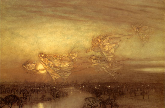 Twilight Dreams,  Arthur Rackham