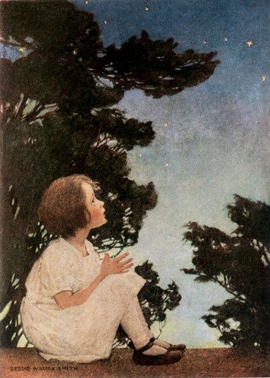 Twinkle Twinkle Little Star, Jessie Willcox Smith (11X15.4)