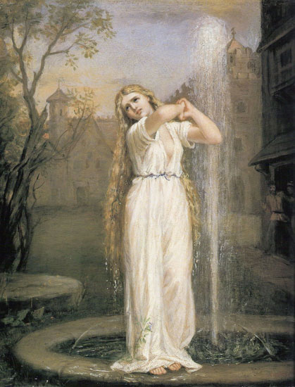 Undine, Waterhouse (16X21)