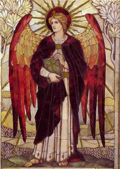 Archangel Uriel, Powell (18X25)