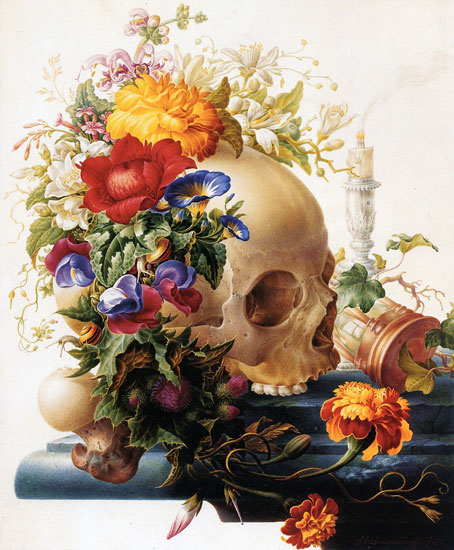 Vanitas, Herman Henstenburgh (18.2X22)