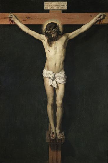 Christ Crucified, Diego Vel�zquez (16X24)