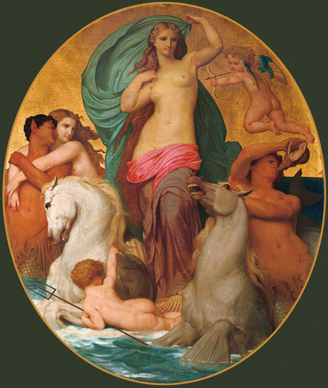 Venus Triumphant, William-Adolphe Bouguereau (18.5X22)