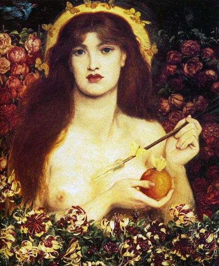 Venus Verticordia, Dante Gabriel Rossetti