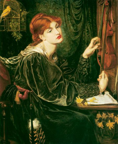 Veronica-Veronese, Dante Gabriel Rossetti (17X22)