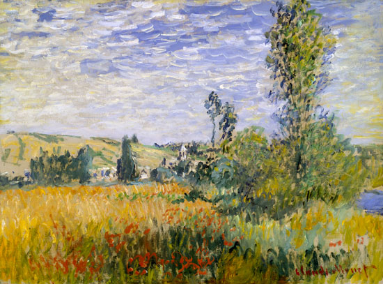 Vetheuil, Claude Monet