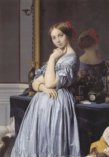 Vicomtess Othenin d'Haussonville, Jean Auguste Dominique Ingres