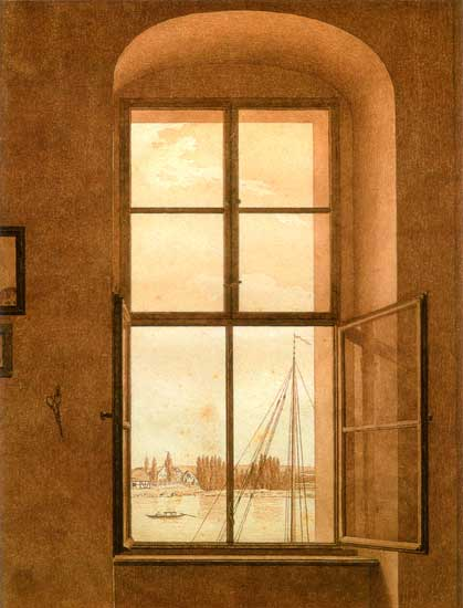 View from the Artists Studio, Friedrich