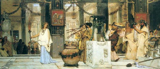 The Vintage Festival, Sir Lawrence Alma-Tadema (14.75X34)