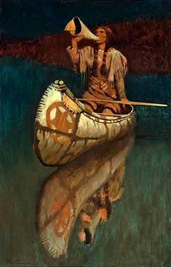 The Signal, N. C. Wyeth